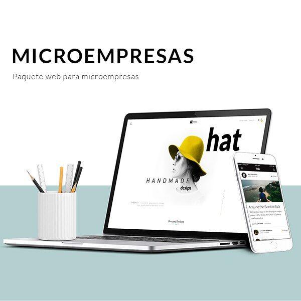 Páginas web para microempresas - Pispos diseño de páginas web en cali