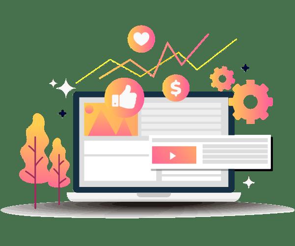 Diseño de páginas web en Cali - administración de redes sociales para empresas en cali