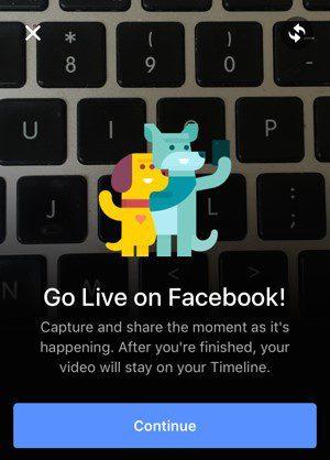Totorial: Cómo postear en facebook live 2020 - Paso 4