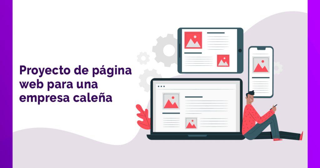 Proyecto de página web para una empresa caleña - Pispos