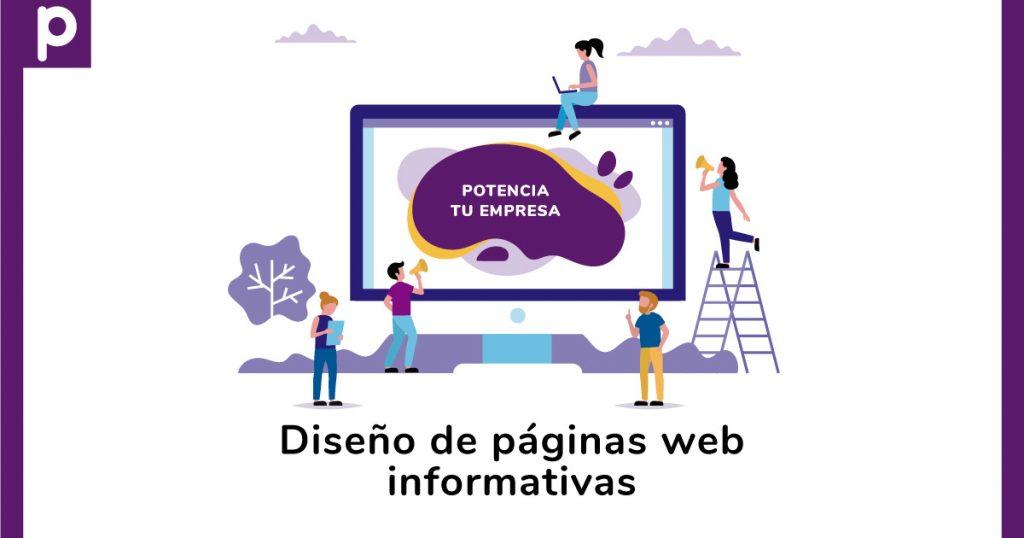 Diseño de páginas web informativas en Cali - Pispos