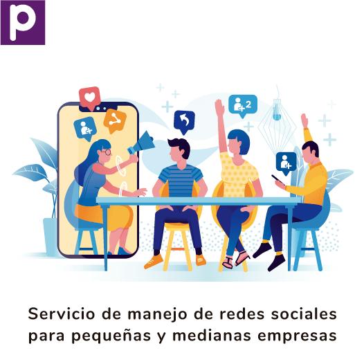 Servicio de manejo de redes sociales para pequeñas empresas Pispos